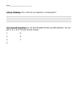 Ecosystem Study Jam  Notes
