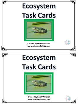 Task Cards Ecosystem 5-LS2