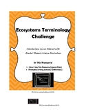 Ecosystem Terminology Challenge