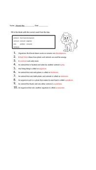 Ecosystem Test