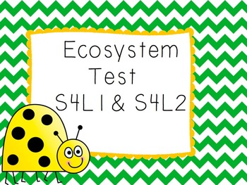 Ecosystem Test- S4L1 & S4L2