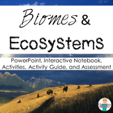 Ecosystems & Biomes + Food Chain & Webs Bundle