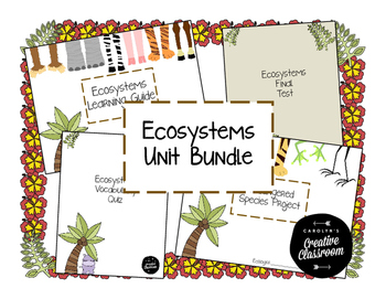 Ecosystem Unit Bundle