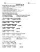 Ecosystem Unit Study Guide/Test