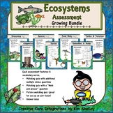 Ecosystem Vocabulary Assessment BUNDLE