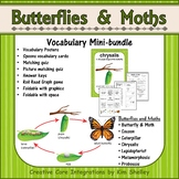 Ecosystem Vocabulary - Butterflies and Moths