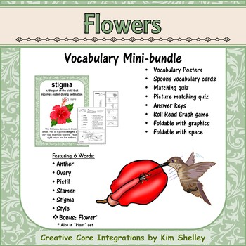 Ecosystem Vocabulary - Flowers