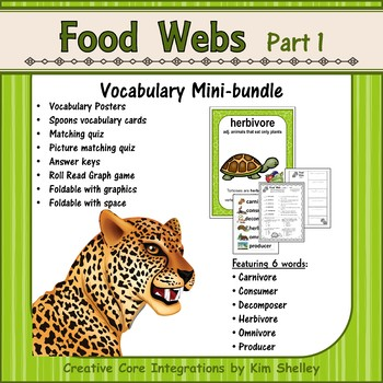 Ecosystem Vocabulary - Food Webs Part 1