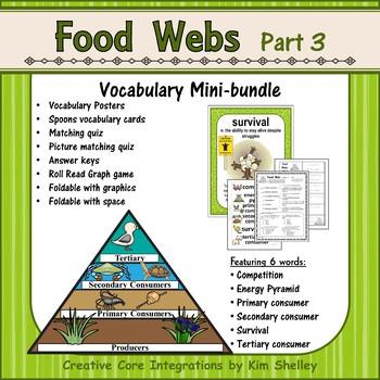 Ecosystem Vocabulary - Food Webs Part 3