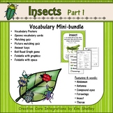 Ecosystem Vocabulary - Insects Part 1