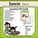 Ecosystem Vocabulary - Insects Part 2