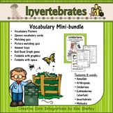 Ecosystem Vocabulary - Invertebrates