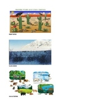 Ecosystem Vocabulary Picture Cards