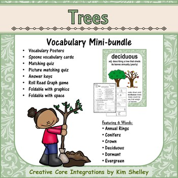 Ecosystem Vocabulary - Trees
