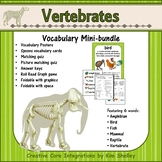 Ecosystem Vocabulary - Vertebrates
