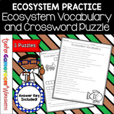 Ecosystem Vocabulary and Crossword Puzzle
