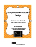 Ecosystem Word Wall
