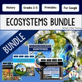 Ecosystems Bundle: Photosynthesis, Animals, Food Chains {Both Print and Digital}