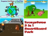 Ecosystems - 3 in 1 Third Grade SmartBoard Pack