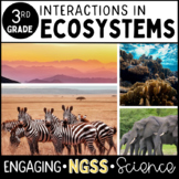 3rd Grade - Ecosystems - Environmental Impacts - Complete NGSS Science Unit