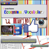 Ecosystems | 7th Grade | VocabUmedia
