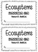 Ecosystems: A Pebble Go Research Mini-Booklet