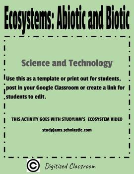 Ecosystems: Abiotic and Biotic