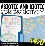 Ecosystems - Abiotic and Biotic Sort Activity