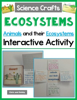 Ecosystems - Animals and their Ecosystems Activity - Science Crafts Series