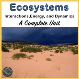 Ecosystems Unit: Arctic Tundra, Deserts, Oceans, Temperate Forest, and Wetlands