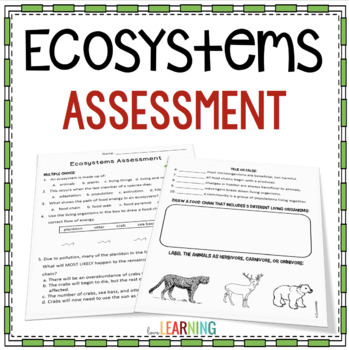 Ecosystems Assessment