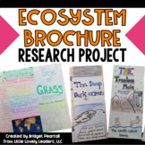 Ecosystems Brochure Research Project