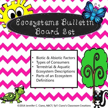 Ecosystems Bulletin Board/Review Game