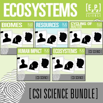 Ecosystems CSI Science Bundle
