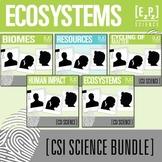 Ecosystems CSI Science Bundle