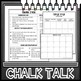 Ecosystems Chalk Talk Task Cards
