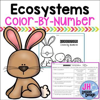 Ecosystems Color-By-Number