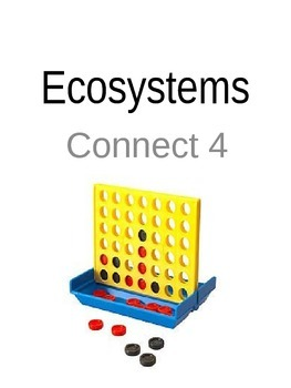 Ecosystems Connect 4 Vocabulary Game
