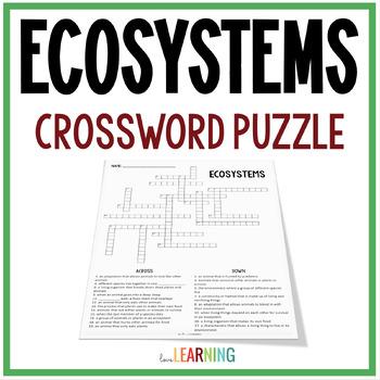 Ecosystems Crossword Puzzle