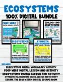 Ecosystems Digital Bundle (3 Video Lessons+4 AutoGraded Ac