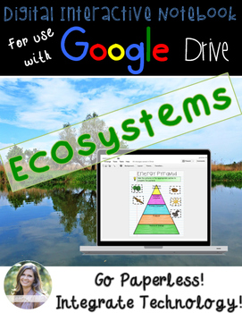 GOOGLE Ecosystems Digital Interactive Notebook