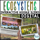 Ecosystems Distance Learning Google Slides | Interactive D