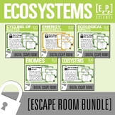 Ecosystems Science Escape Room Bundle
