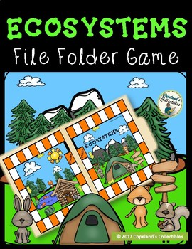Ecosystems File Folder Game