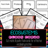 Ecosystems Flash Cards