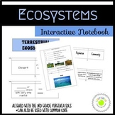 Ecosystems Interactive Notebook Foldables Bundle