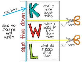 Ecosystems, Food Chains & Food Webs Foldables {A foldable for a science journal}
