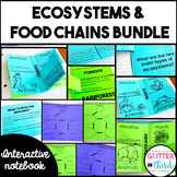 Ecosystems & Food Chains Interactive Notebook BUNDLE VA SOL 3.5