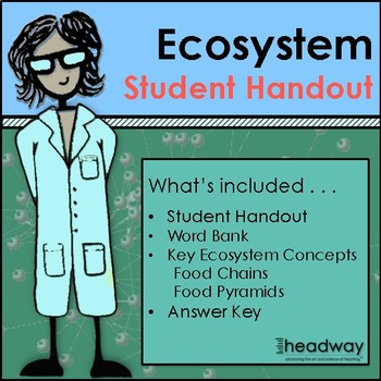 Ecosystems - Food Chains and Food Pyramids Student Handout