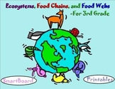 Ecosystems, Food Chains, and Food Webs - A Third Grade Sma